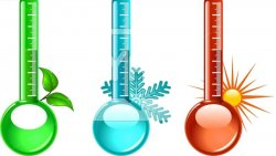 Атмосферное давление и температура воздуха