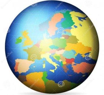 Ingliz tilida berilgan Yevropa mamlakatlarini topishga harakat qiling!