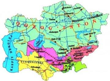 Общий обзор республик Центральной Азии