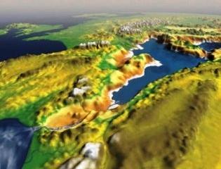 Чудовищное наводнение привело к образованию средиземного моря