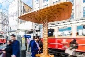В Стамбуле появились «солнечные грибы»