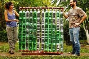 В Аргентине разработали водонагреватель из отходов