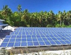 Остров в Тихом океане почти полностью обеспечивается энергией от ВИЭ