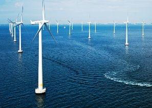 Начала работу первая в США морская ветряная электростанция