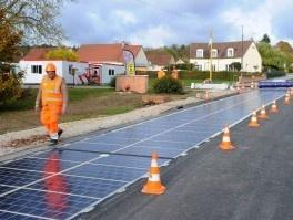 В 2017 году солнечные дороги появятся на четырех континентах