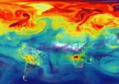 Atmosferadagi karbonat angidrid miqdori rekord darajaga yetdi.