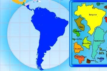 Собери страны мира в единый континент